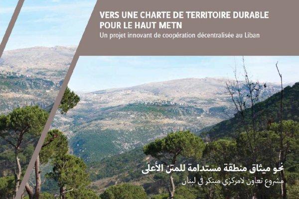 Assistance à l'élaboration d'une charte intercommunale en vue de la création d'un parc naturel régional dans le Haut Metn
