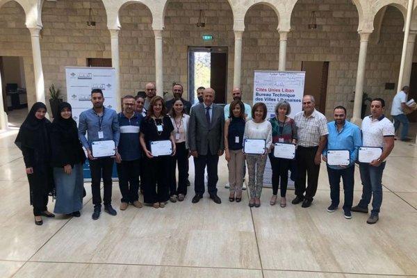 Renforcement et mise en réseau des élus et techniciens municipaux au Liban