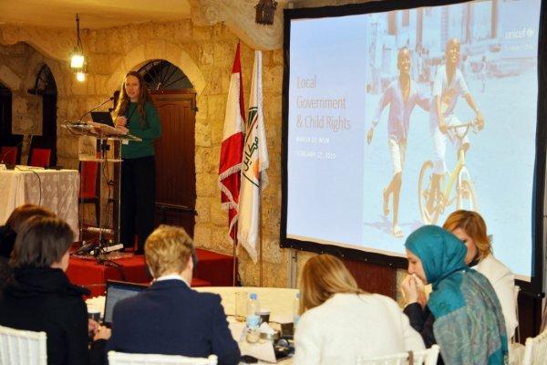 Les municipalités libanaises agissent pour les enfants (LMA4C)