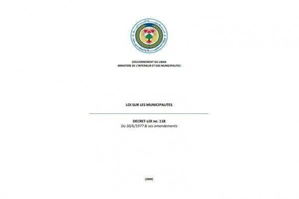 Loi Municipale