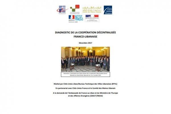 Diagnostic de la coopération décentralisée franco-libanaise