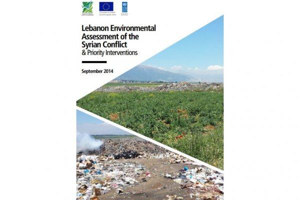 Impact environnemental du conflit syrien au Liban