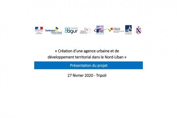 Présentation du projet 27 février 2020 - Tripoli