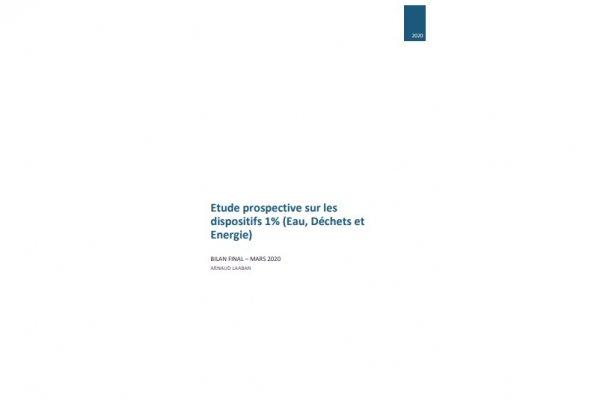 Etude prospective sur les dispositifs 1% (Eau, Déchets et Energie)
